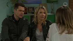 Mark Brennan, Steph Scully, Sonya Mitchell in Neighbours Episode 7465