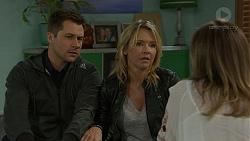 Mark Brennan, Steph Scully, Sonya Rebecchi in Neighbours Episode 7465
