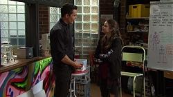 Jack Callahan, Nikki Jackson in Neighbours Episode 7465