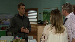 Mark Brennan, Sonya Mitchell, Toadie Rebecchi in Neighbours Episode 7465