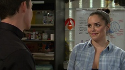 Jack Callaghan, Paige Novak in Neighbours Episode 7465