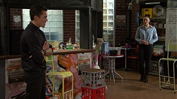 Jack Callaghan, Paige Novak in Neighbours Episode 7466