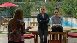 Piper Willis, Lauren Turner, Paige Smith in Neighbours Episode 7466