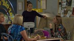 Lauren Turner, Sheila Canning, Paige Novak, Piper Willis in Neighbours Episode 7466