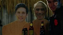 Josh Willis, Doug Willis, Ned Willis in Neighbours Episode 7466