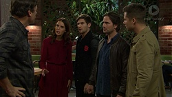 Jacka Hills, Elly Conway, Ned Willis, Bob Watson, Mark Brennan in Neighbours Episode 7466