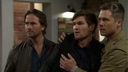Brad Willis, Ned Willis, Mark Brennan in Neighbours Episode 7466