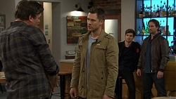 Jacka Hills, Mark Brennan, Ned Willis, Brad Willis in Neighbours Episode 7467