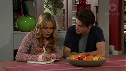 Xanthe Canning, Ben Kirk in Neighbours Episode 7467