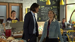 Paige Smith, Leo Tanaka, Amy Williams, Paul Robinson in Neighbours Episode 7469