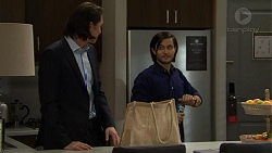 Leo Tanaka, David Tanaka in Neighbours Episode 7469