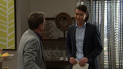 Paul Robinson, Leo Tanaka in Neighbours Episode 7469