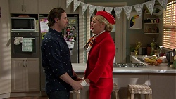 Brad Willis, Lauren Turner in Neighbours Episode 7471