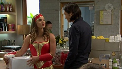 Amy Williams, Leo Tanaka in Neighbours Episode 7471