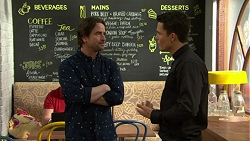 Brad Willis, Jack Callaghan in Neighbours Episode 7471