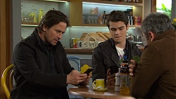 Brad Willis, Ben Kirk, Karl Kennedy in Neighbours Episode 7472