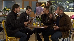 Brad Willis, Ben Kirk, Mark Brennan, Karl Kennedy in Neighbours Episode 7472