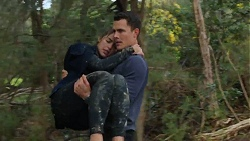 Paige Novak, Jack Callaghan in Neighbours Episode 7473