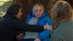 Brad Willis, Lauren Turner, Piper Willis in Neighbours Episode 7473