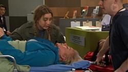 Ben Kirk, Piper Willis, Lauren Turner in Neighbours Episode 7473