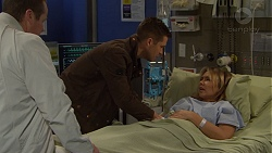 Toadie Rebecchi, Mark Brennan, Steph Scully in Neighbours Episode 7473