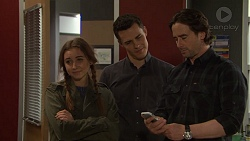 Piper Willis, Jack Callaghan, Brad Willis in Neighbours Episode 7473