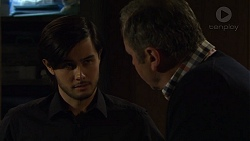 David Tanaka, Karl Kennedy in Neighbours Episode 7473