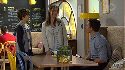 Jimmy Williams, Amy Williams, Jack Callaghan in Neighbours Episode 7474