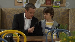 Paul Robinson, Jimmy Williams in Neighbours Episode 7474