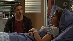 Tyler Brennan, Paige Smith in Neighbours Episode 7474