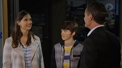 Amy Williams, Jimmy Williams, Paul Robinson in Neighbours Episode 7474