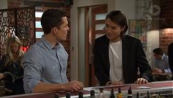 Jack Callahan, Leo Tanaka in Neighbours Episode 7474