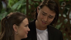 Amy Williams, Leo Tanaka in Neighbours Episode 7474