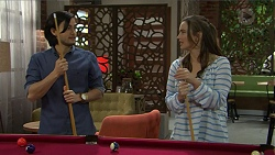David Tanaka, Amy Williams in Neighbours Episode 7475