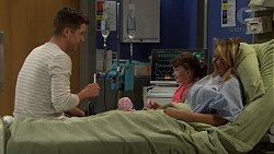 Mark Brennan, Nell Rebecchi, Steph Scully in Neighbours Episode 7475