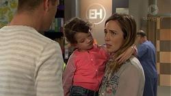 Mark Brennan, Nell Rebecchi, Sonya Mitchell in Neighbours Episode 7475