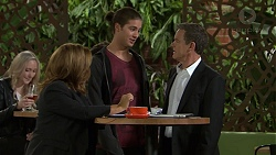 Terese Willis, Tyler Brennan, Paul Robinson in Neighbours Episode 7475