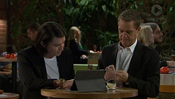Leo Tanaka, Paul Robinson in Neighbours Episode 7475
