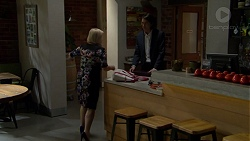 Sheila Canning, Leo Tanaka in Neighbours Episode 7476