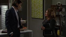 Leo Tanaka, Terese Willis in Neighbours Episode 7476