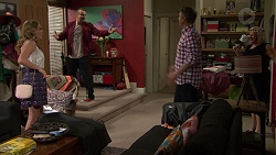 Xanthe Canning, Toadie Rebecchi, Gary Canning, Sheila Canning in Neighbours Episode 7476