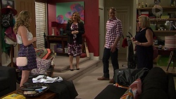 Xanthe Canning, Terese Willis, Gary Canning, Sheila Canning in Neighbours Episode 7476