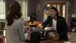 Elly Conway, Leo Tanaka in Neighbours Episode 7476