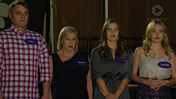 Gary Canning, Sheila Canning, Amy Williams, Xanthe Canning in Neighbours Episode 7476