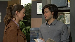 Amy Williams, David Tanaka in Neighbours Episode 7478