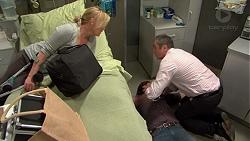 Lauren Turner, Brad Willis, Karl Kennedy in Neighbours Episode 7478