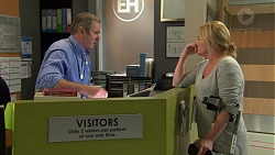 Karl Kennedy, Lauren Turner in Neighbours Episode 7480