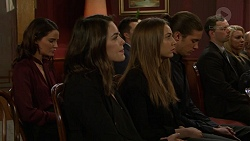 Elly Conway, Paige Smith, Piper Willis, Tyler Brennan in Neighbours Episode 7480