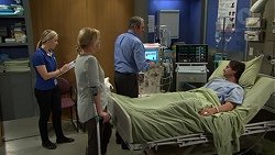 Lauren Turner, Karl Kennedy, Brad Willis in Neighbours Episode 7480