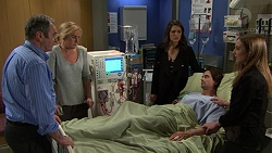 Karl Kennedy, Lauren Turner, Paige Smith, Brad Willis, Piper Willis in Neighbours Episode 7480